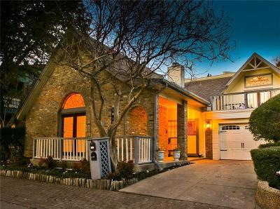 Dallas Single Family Home For Sale: 1412 Spenwick Terrace