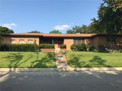 Fort Worth Single Family Home For Sale: 4912 Terrace Trail