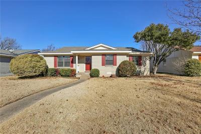 Dallas Single Family Home For Sale: 10403 Robindale Drive