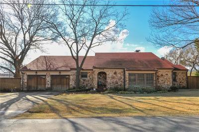 Red Oak Single Family Home Active Contingent: 206 Waller