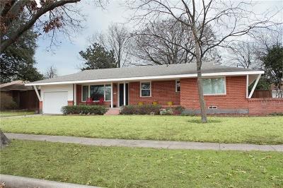 Dallas Single Family Home For Sale: 1631 Loree Drive