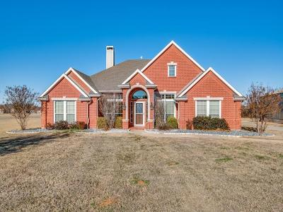 Aubrey Single Family Home Active Option Contract: 7610 Bruce Road