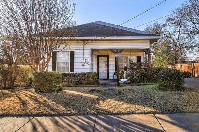 McKinney Single Family Home For Sale: 908 Anthony Street