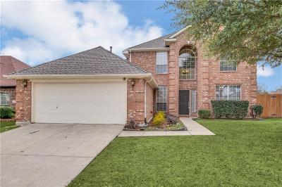 Frisco Single Family Home Active Option Contract: 12201 Cajun