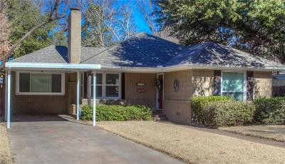 Fort Worth Single Family Home For Sale: 6432 Darwood Avenue