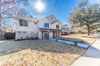 Richardson Single Family Home For Sale: 1702 Woodoak Drive
