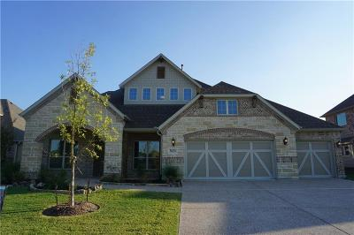 Wylie Single Family Home Active Contingent: 3021 Indigo Drive