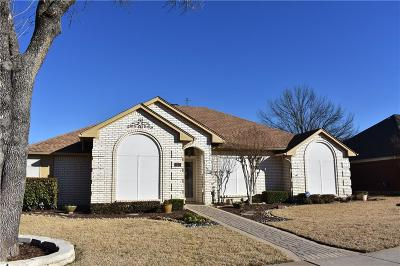 Coppell Single Family Home Active Option Contract: 316 Clear Haven Drive