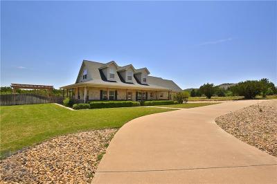 Abilene Single Family Home For Sale: 273 Cedar Lake Drive