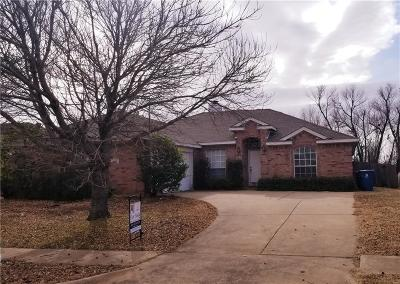 Sachse Single Family Home Active Option Contract: 3417 Georgetown Drive