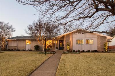 Dallas Single Family Home For Sale: 3627 Northaven Road