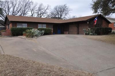 Benbrook Single Family Home For Sale: 1222 Sproles Drive