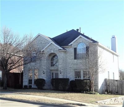 Allen Single Family Home Active Option Contract: 1120 Maple Creek Avenue