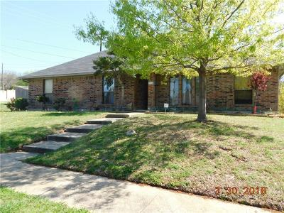 Carrollton Single Family Home For Sale: 1614 Ginger Drive