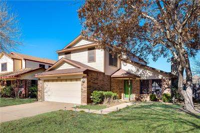 Grapevine Single Family Home Active Option Contract: 1443 Thistlewood Lane