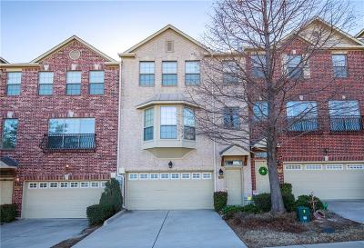 Lewisville Townhouse For Sale: 2552 Chambers Drive