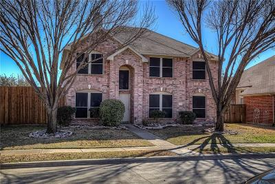 Rowlett Single Family Home For Sale: 7318 Gillon Drive