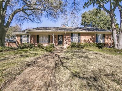 Dallas Single Family Home For Sale: 7731 Chalkstone Drive