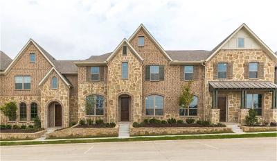 McKinney Townhouse For Sale: 7205 Chief Spotted Tail Drive