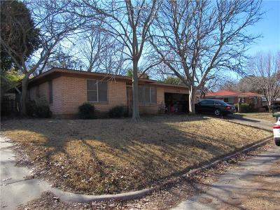 Weatherford Single Family Home Active Option Contract: 1421 W Water Street