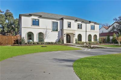 Dallas Single Family Home For Sale: 4215 Beechwood Lane