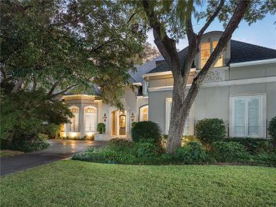 Single Family Home For Sale: 6734 Mimosa Lane
