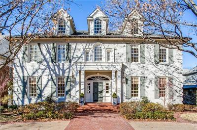 Highland Park, University Park Single Family Home For Sale: 3412 Caruth Boulevard