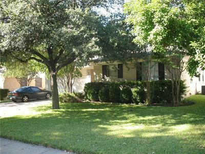 Richardson Single Family Home For Sale: 1244 Dumont Drive