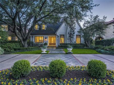 Highland Park, University Park Single Family Home For Sale: 3833 Southwestern Boulevard