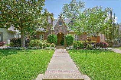 Dallas TX Single Family Home For Sale: $789,000