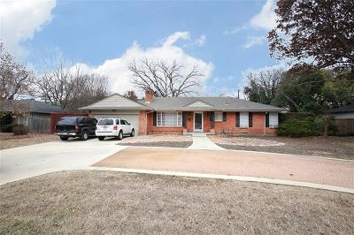 Single Family Home For Sale: 6437 Royal Lane