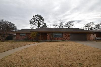Stephenville Single Family Home For Sale: 1650 W Overhill Drive