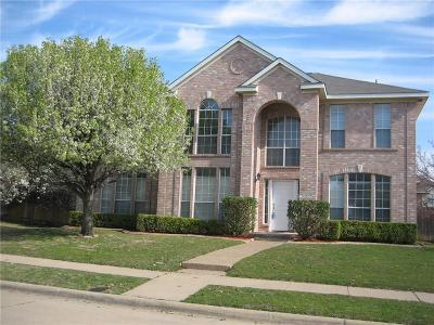 McKinney Single Family Home For Sale: 5200 Vineyard Lane