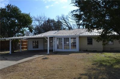 Seagoville Single Family Home Active Option Contract: 2918 Wanda Way