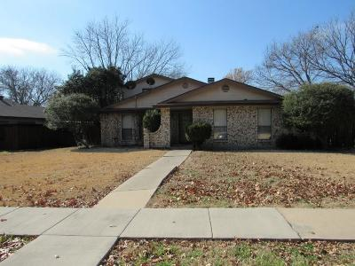 Plano Single Family Home For Sale: 3000 Chancellor Drive