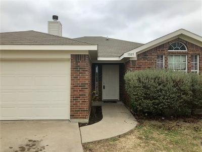 Fort Worth TX Single Family Home For Sale: $155,000