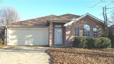 Arlington Single Family Home For Sale: 7703 Redmont Drive