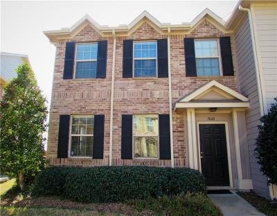 Fort Worth TX Townhouse For Sale: $182,900