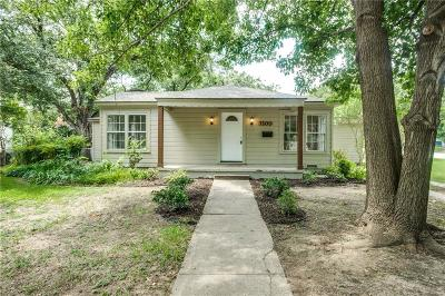 Single Family Home For Sale: 3200 Edgehill Road