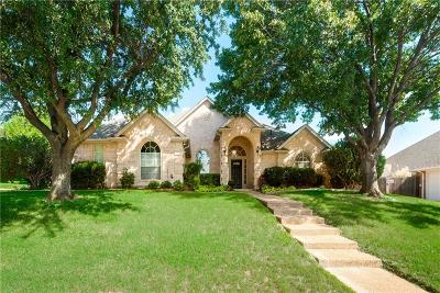 Fort Worth Single Family Home Active Option Contract: 8813 Turnberry Court