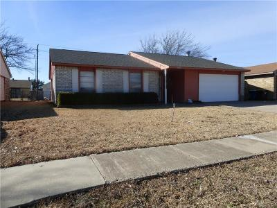 The Colony Single Family Home For Sale: 5404 Baker Drive