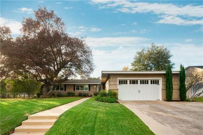 Fort Worth Single Family Home For Sale: 4708 Winthrop Avenue E