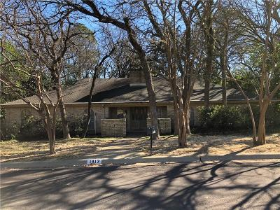 Denton Single Family Home Active Option Contract: 1813 Stonegate Drive