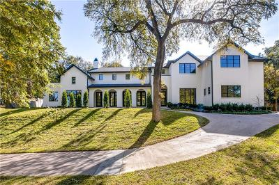 Dallas TX Single Family Home For Sale: $3,690,000