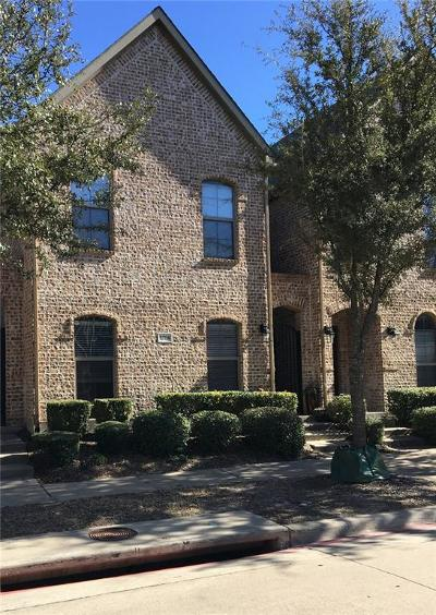 Frisco Townhouse For Sale: 5786 Grosseto Drive