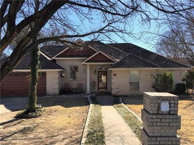Weatherford Single Family Home Active Option Contract: 905 Norton Street