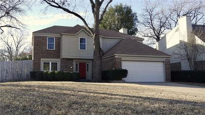 Grapevine Single Family Home Active Option Contract: 505 Arbor Oak Drive