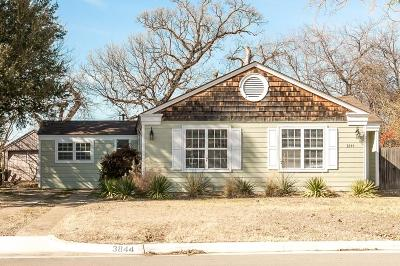 Fort Worth Single Family Home For Sale: 3844 Englewood Lane
