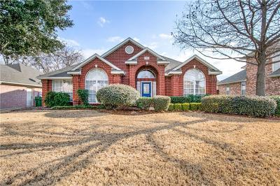 Mansfield Single Family Home Active Option Contract: 1714 Brittany Lane