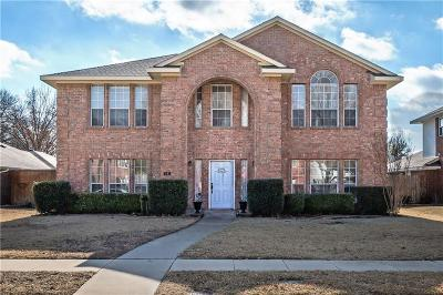 Allen TX Single Family Home For Sale: $299,500
